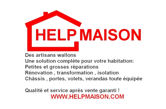 Help Maison aussi pour vos transformation, rénovation & isolation