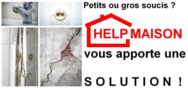 Petit ou gros soucis help maison vous apporte une solution !